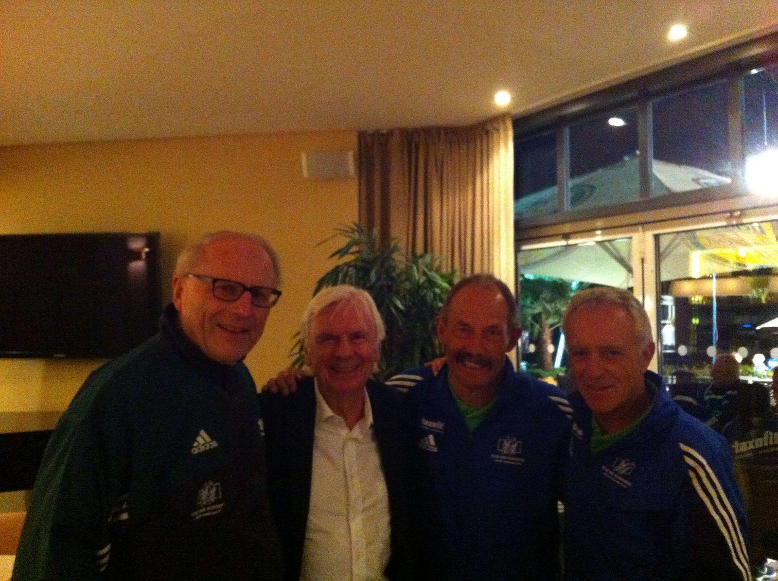 Herbert Watterott, Dieter Kürten, Alois Stöcklin, Klaus-Peter Thaler