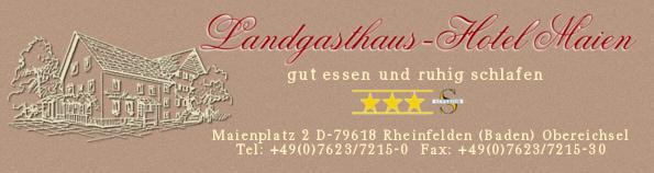 Landgasthaus-Hotel Maien